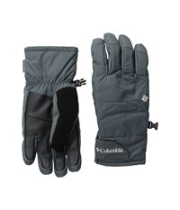 Columbia Whirlibird Short Gloves Graphite Ski Gloves Gray