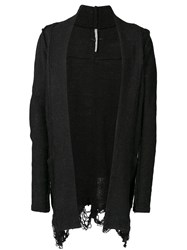 First Aid To The Injured 'Apex' Knit Cardigan Black
