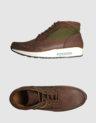 Bepositive High Top Sneakers Cocoa