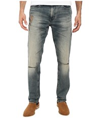 Calvin Klein Jeans Slim Straight In Fatigue Tinted Fatigue Tinted Men's Blue