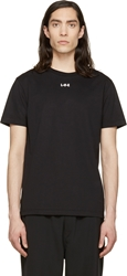 Yang Li Black 'L If E' Print T Shirt