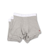 Original Penguin 100 Cotton 3 Pack Boxer Brief Grey Heather Men's Underwear Gray