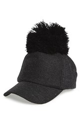 Women's Bp. Tweed Pom Ball Cap