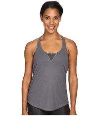 Alo Yoga Layer Tank Top Slate Women's Sleeveless Metallic
