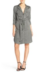 Women's French Connection Woven Shirtdress