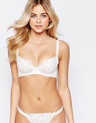Ultimo Treasure Cut And Sew Bra B D White