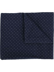 Engineered Garments Polka Dot Scarf Blue