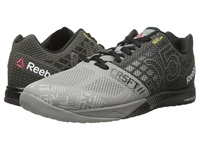 Reebok Crossfit Nano 5.0 Flat Grey Black Men's Cross Training Shoes Gray