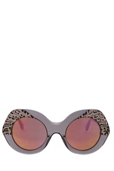 Cutler And Gross Party Leopard Sunglasses