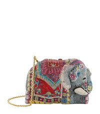 Judith Leiber Maharaja Elephant Clutch Female Multi