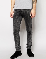 Zee Gee Why Jeans Sticks And Bones Super Skinny Stoned Grey