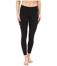 Yummie Tummie Canyon Skimmer Stretch Twill Leggings Black Women's Casual Pants
