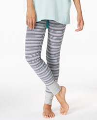Alfani Printed Pajama Leggings Only At Macy's Multi Stripe