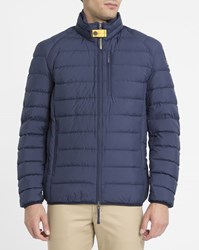 Parajumpers Blue Ugo Feather Down Jacket