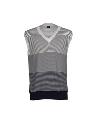 Dandg Knitwear Jumpers Men White