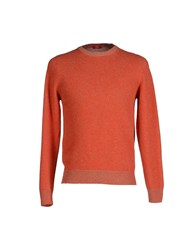 Altea Knitwear Jumpers Men Rust