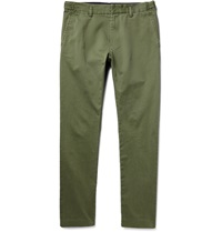 Marc By Marc Jacobs Slim Fit Cotton Twill Chinos Green