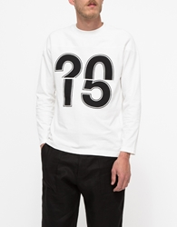 Moto Sweater Ignition Numbers White