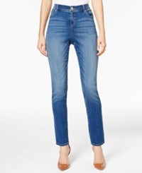 Inc International Concepts Curvy Fit Skinny Jeans Only At Macy's Bonanza Wash