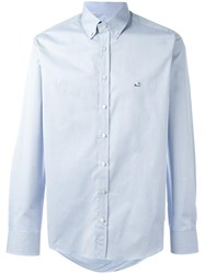 Etro Classic Button Down Shirt Blue