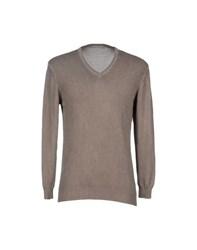 Massimo Rebecchi Knitwear Jumpers Men Khaki