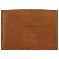 John Lewis Made In Italy Leather Card Holder Tan