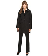 Kate Spade Raincoat 32 Black Women's Coat