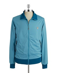Bench Ribbed Track Jacket Delphinium Blue