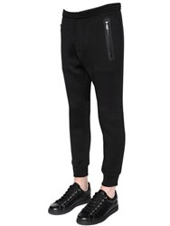 Dsquared Bonded Wool Jersey Scuba Jogging Pants