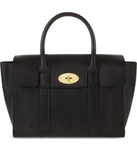 Mulberry Bayswater Small Grained Leather Tote Black