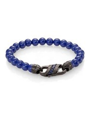 Stephen Webster Ceramic Beaded Bracelet Blue