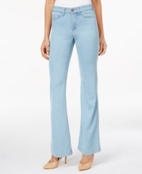 Nydj Claire Chambray Trouser Jeans Coral Springs