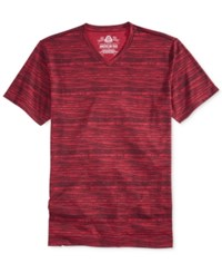 American Rag Men's Woodgrain T Shirt Only At Macy's Dark Scarlet
