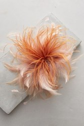 Anthropologie Featheralia Pin Peach