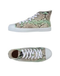Gienchi High Tops And Trainers Light Green