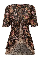 Ghost Pippa Blouse Heritage Floral Black