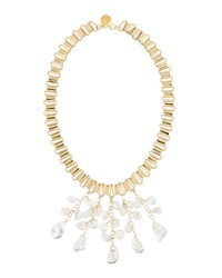 Devon Leigh Freshwater Pearl Multi Drop Necklace