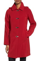 London Fog Women's Hooded Walking Coat
