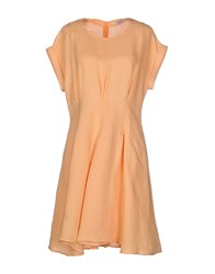 Max And Co. Dresses Short Dresses Women Apricot