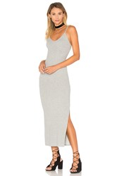Indah Licorice Tank Dress Gray