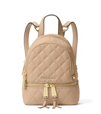 Rhea Extra Small Quilted Leather Backpack