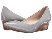Cole Haan Tali Luxe Wedge 40 Paloma Patent Women's Slip On Dress Shoes Gold