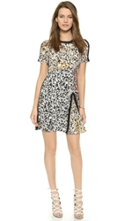 Nanette Lepore Barcelona Babe Dress Black Multi