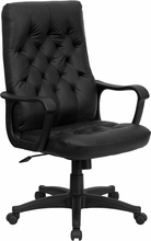 Flash Furniture Traditional Leather Executive Chair Flash Furniture Office Chairs