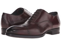 To Boot Derek Bordo Men's Lace Up Wing Tip Shoes Burgundy