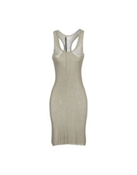 Jean Colonna Short Dresses Beige