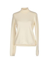 Ballantyne Turtlenecks Ivory