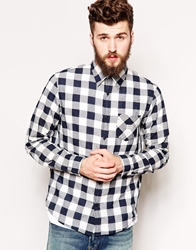 Denim And Supply Ralph Lauren Shirt With Large Check Blue