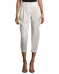 Halston Pleated Front Cropped Pants Atmosphere Atmsp