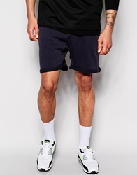 Solid Jersey Shorts Navy